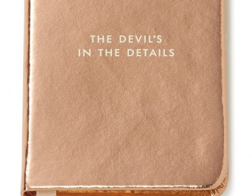 Mini Notebook: The Devil's in the Details
