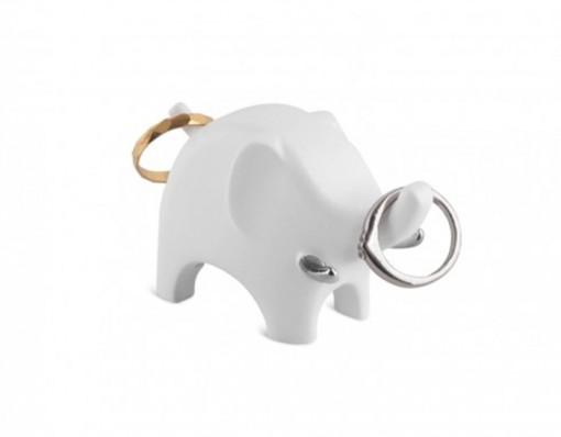 Anigram Elephant Ring Holder