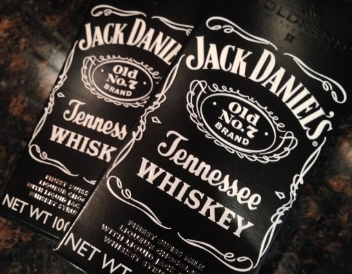 Jack Daniels Whiskey Filled Chocolate Bar