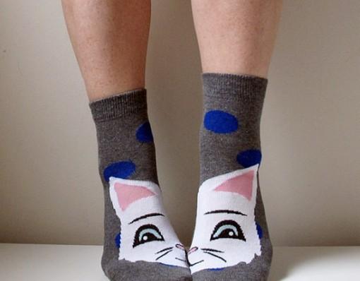 Cat Boot Socks