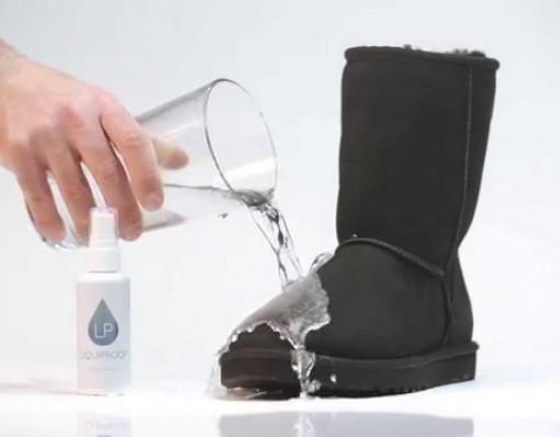 Liquidproof Permanent Footwear Protector