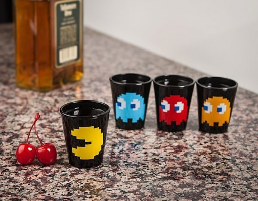 Pac-Man Shot Glass