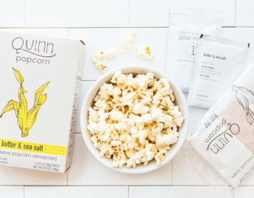 Butter & Sea Salt Popcorn