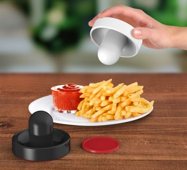 Air Hockey Salt and Pepper Shaker
