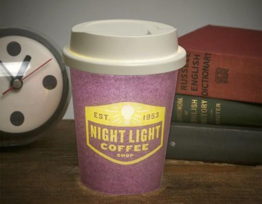 Latte Night Light