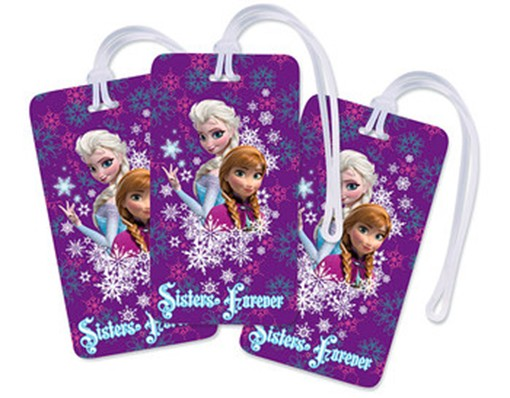 Frozen Luggage Tag