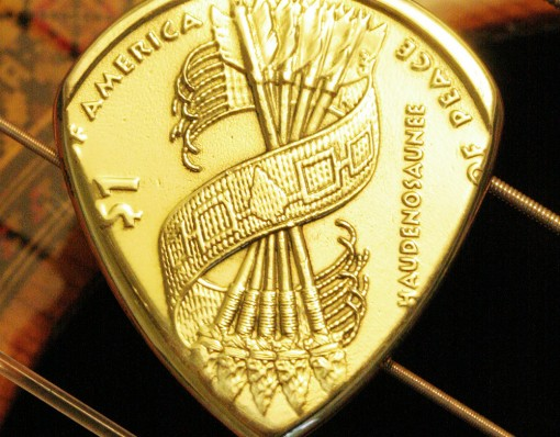 Coin Guitar Pick