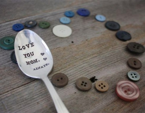 """Love You Mom Always"" Mothers Spoon"