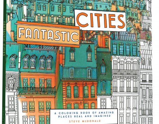 Fantastic Cities: A Coloring Book