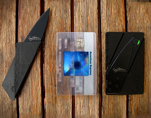 Credit Card Sized Folding Knife