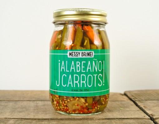 Messy Brine Jalabeaño Carrots